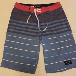 Boys Quicksilver Board Shorts Swim Trunks SZ 27